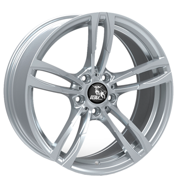 Ultra Wheels, Boost, 8,5x19 ET30 5x112 66,5, silver painted