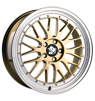 Ultra Wheels, Le Mans, 8,5x19 ET30 5x112 66,5, gold