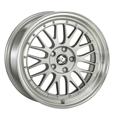 Ultra Wheels, Le Mans, 8,5x18 ET35 5x120 72,6, silver polished