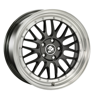 Ultra Wheels, Le Mans, 8,5x18 ET30 5x112 66,5, black polished