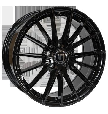 V1 Wheels, V2, 8,5x19 ET45 5x120 72,6, schwarz glänzend lackiert