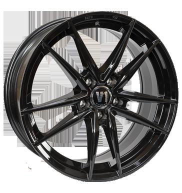 V1 Wheels, V3, 8x18 ET35 5x120 74,1, schwarz glänzend lackiert