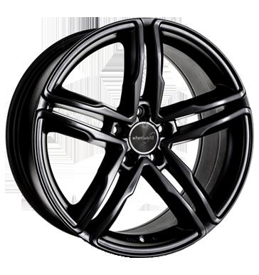 Wheelworld, WH11, 7,5x17 ET28 5x112 66,6, schwarz glanz lackiert