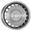 Alcar, Stahl, 5,5x14 ET24 4x108 65, silber