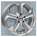 Autec, Xenos, 8,5x19 ET30 5x112 66,6, brilliantsilber-lackiert