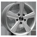 Diewe Wheels, Bellina, 7x17 ET30 5x120 72,6, Pigmentsilber