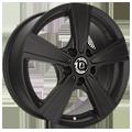 Diewe Wheels, Matto, 6,5x16 ET41 5x115 70,2, Nero