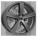 Diewe Wheels, Trina, 7x16 ET38 5x115 70,2, platin matt