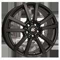 RCDesign, RC25T, 7x17 ET55 5x160 65,1, schwarz klar matt