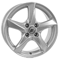 RCDesign, RC30, 6x16 ET43 4x100 57,1, kristallsilber