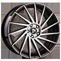 Ultra Wheels, Storm, 8x18 ET30 5x120 72,6, gunmetal polished