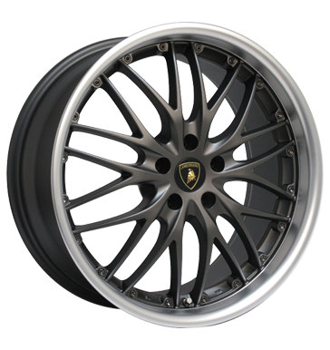 Barracuda Voltec T6 gunmetal matt polished