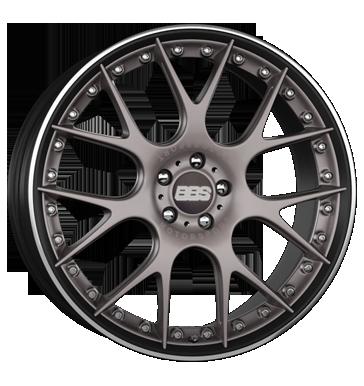 BBS CH-R II platinum schwarz