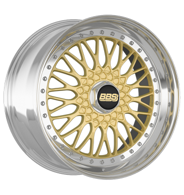 BBS Super RS gold diamant-gedreht