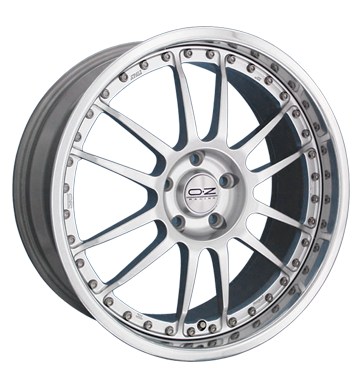 OZ Superleggera 3 F racing silber