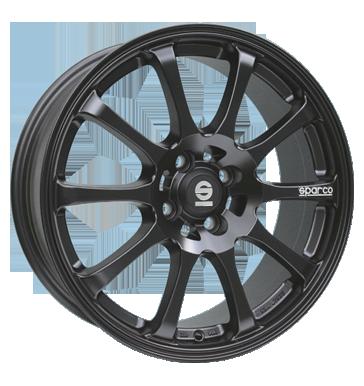 Sparco Drift matt black