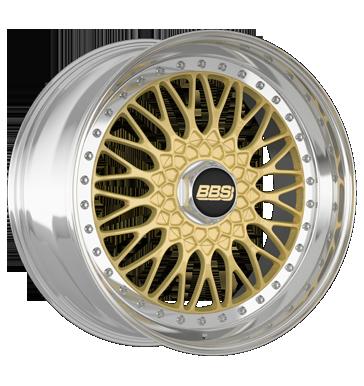BBS Super RS gold diamant-gedreht