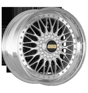 BBS Super RS brillantsilber diamant-gedreht