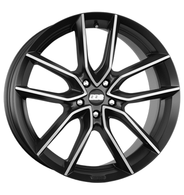 BBS XA night fever black diamant-gedreht