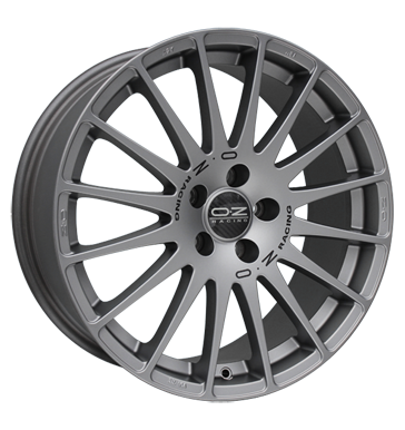 OZ Superturismo GT grigio corsa