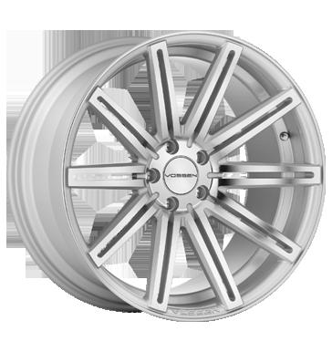 Vossen CV4 silver mirror polished