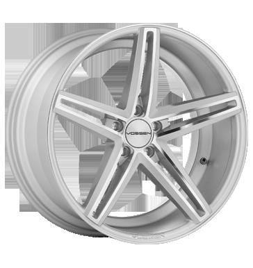 Vossen CV5 silver mirror polished